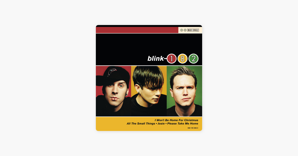 Blink 182 I Won T Be Home For Christmas.I Won T Be Home For Christmas Single By Blink 182