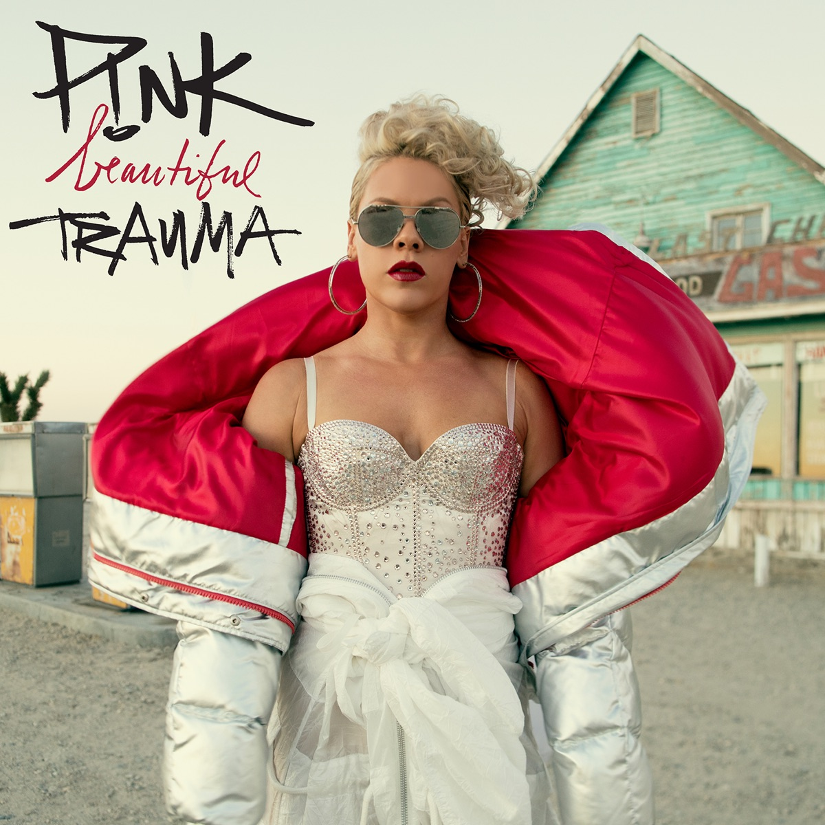 Beautiful Trauma Pnk CD cover
