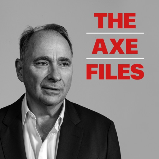 Cover image of The Axe Files with David Axelrod