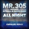 All Night feat Pitbull David Rush Starkillers Remix Radio Edit Single