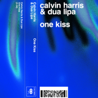 Calvin Harris, Dua Lipa - One Kiss artwork