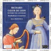 Richard Cœur de Lion, troubadours et trouvères