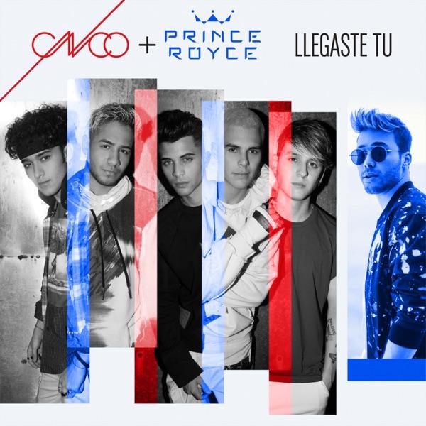 CNCO & Prince Royce - Llegaste Tú