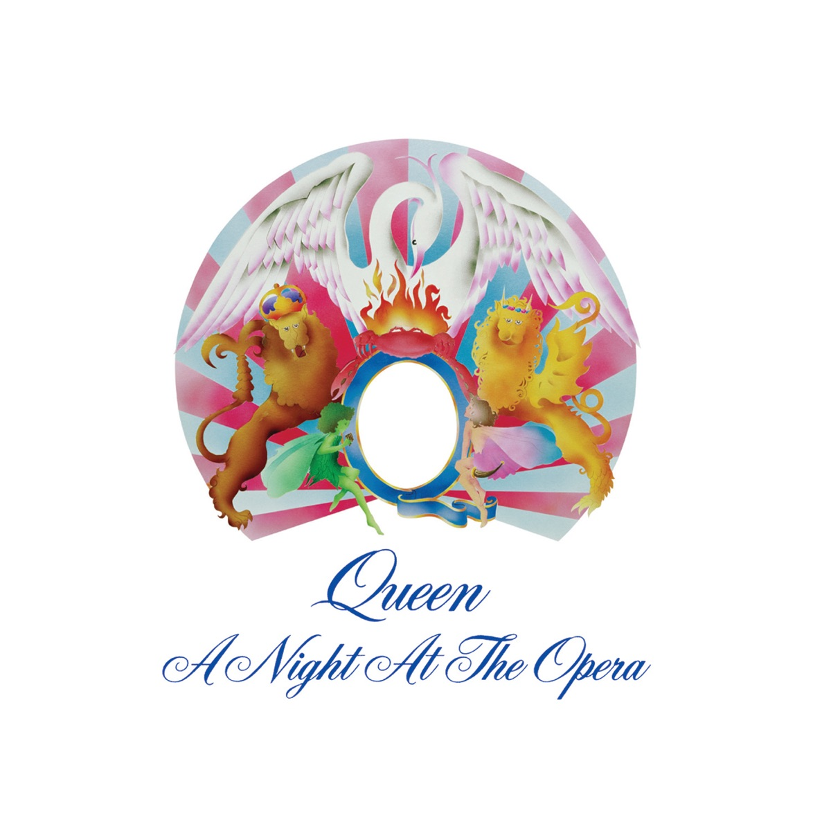A Night at the Opera Queen CD cover