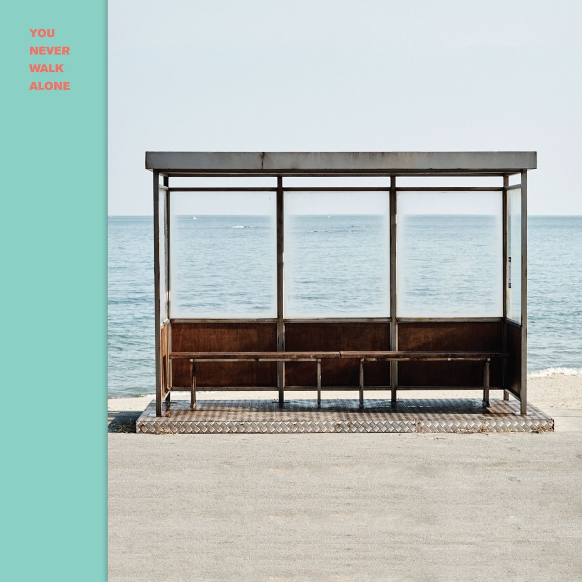 You Never Walk Alone BTS CD cover