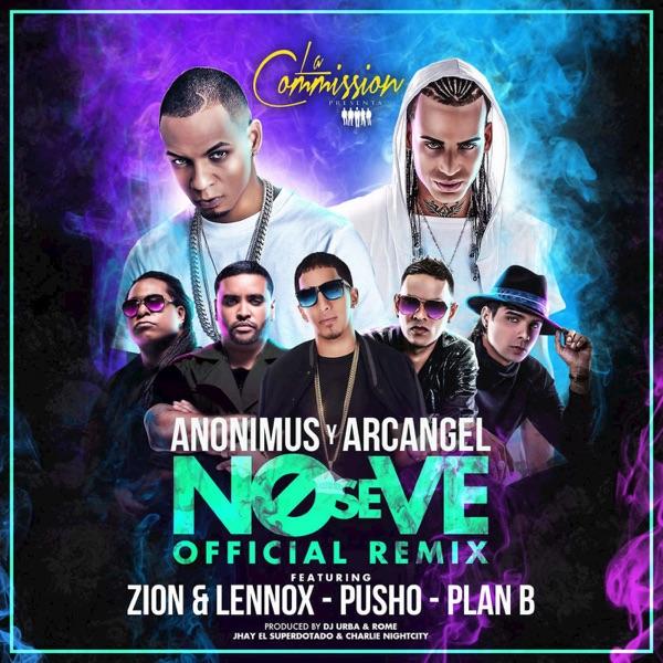No Se Ve (Remix) [feat. Arcángel, Plan B, Pusho & Zion & Lennox] - Single