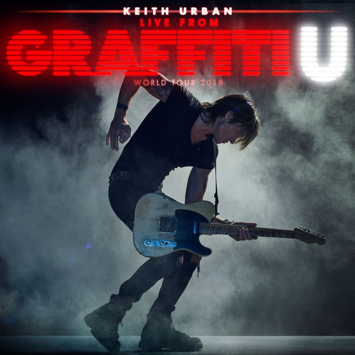 Little Bit of Everything Live from Mountain View CA  July 20 2018 - Single Keith Urban CD cover