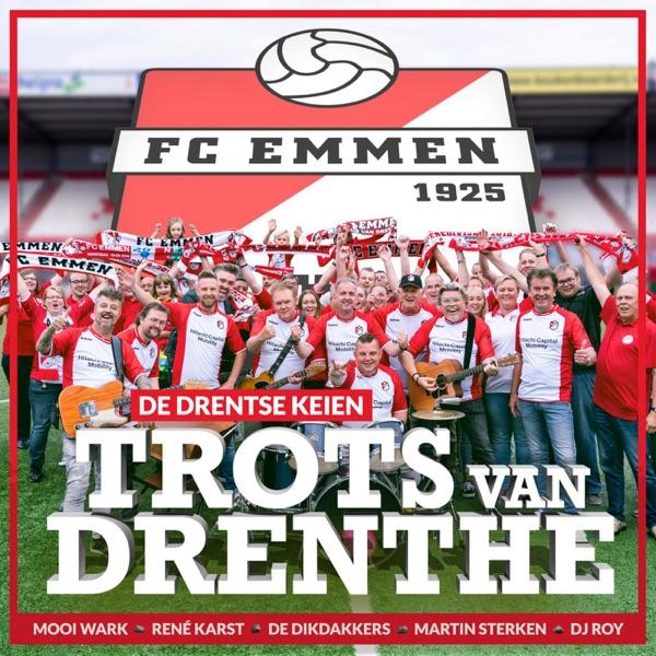 Trots van Drenthe (F.C.Emmen) - Single