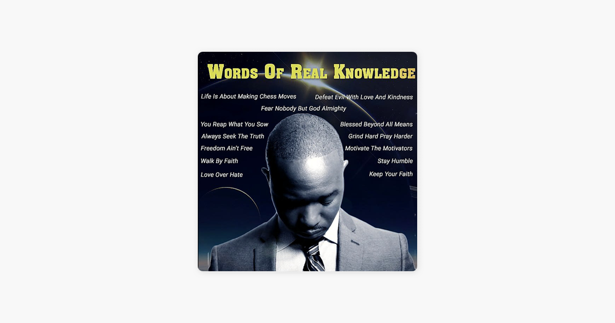 Words Of Real Knowledge By Blaze On Apple Music
