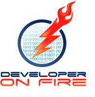 Podcast cover art for Developer On Fire
