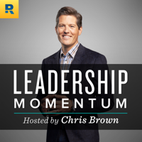 Podcast cover art for The Leadership Momentum Podcast