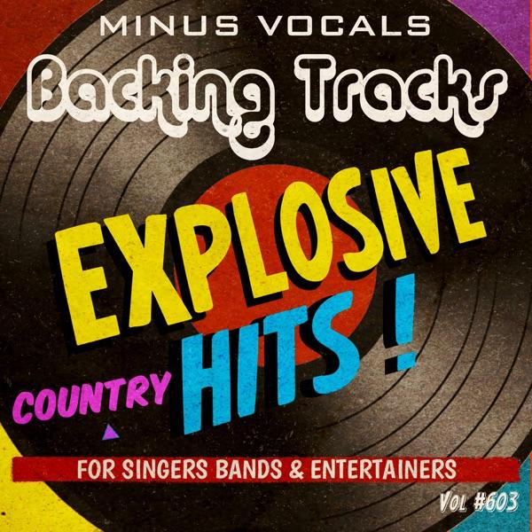 Explosive Hits Country Backing Tracks Vol 603 (Instrumental Karaoke Backing Track)