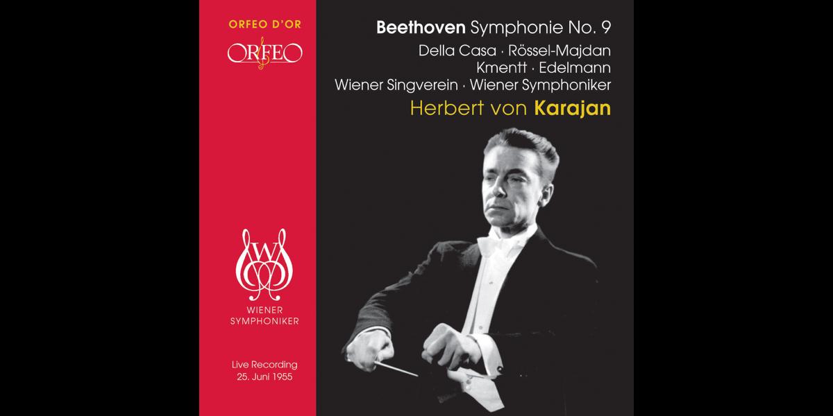 Beethoven: Symphony No  9, Op  125 (Live) by Herbert von Karajan