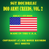 DoD Army The Nco Creed New-Sgt Boudreau