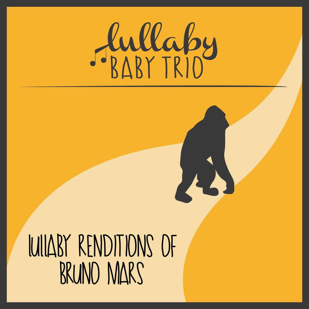 Lullaby Renditions of Bruno Mars Lullaby Baby Trio CD cover
