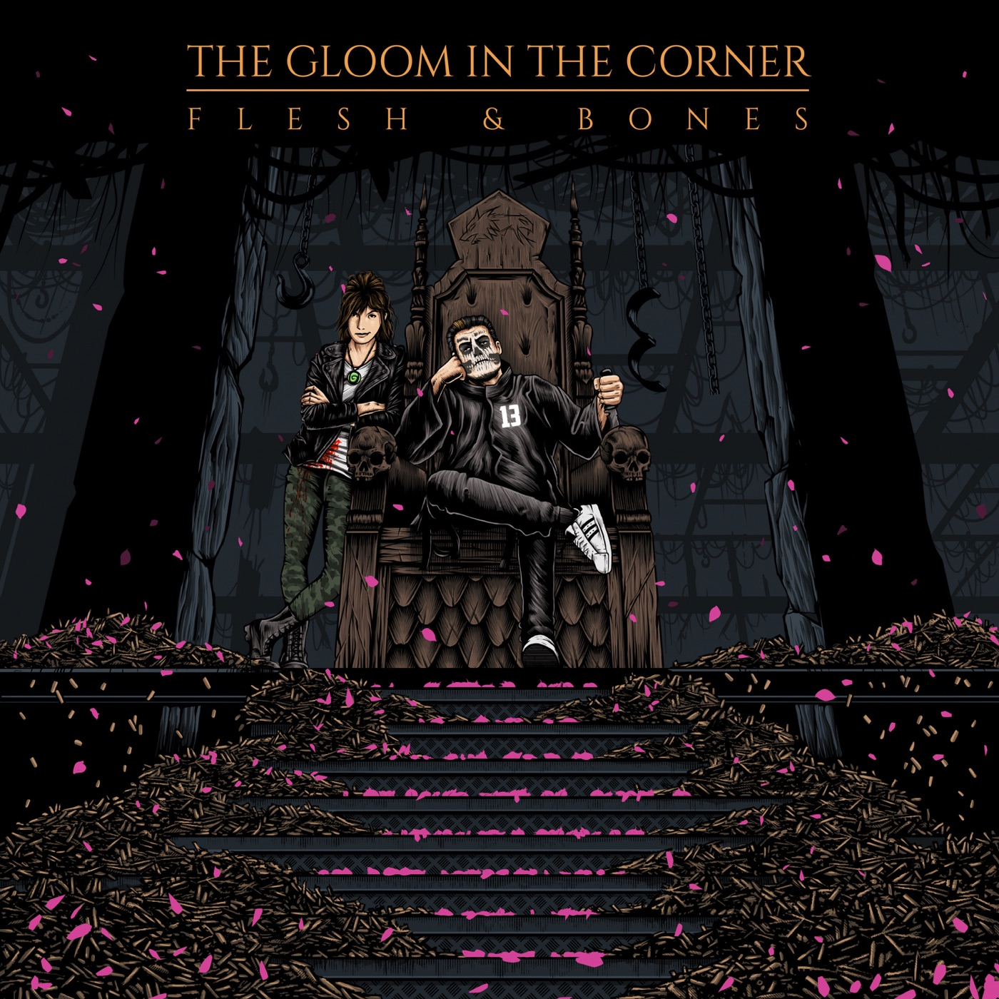 The Gloom In The Corner - Flesh & Bones [EP] (2019)