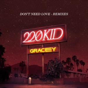 Don't Need Love (Remixes) - Single