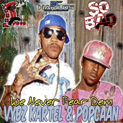 We Never Fear Dem - Single - Vybz Kartel