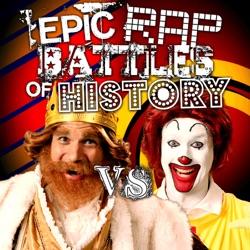 View album Ronald McDonald vs the Burger King - Single