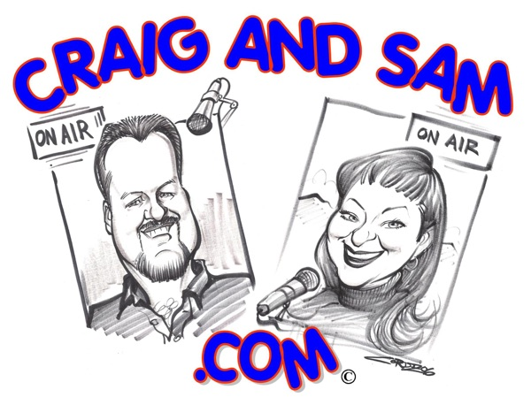 Craig and Sam in the Morning