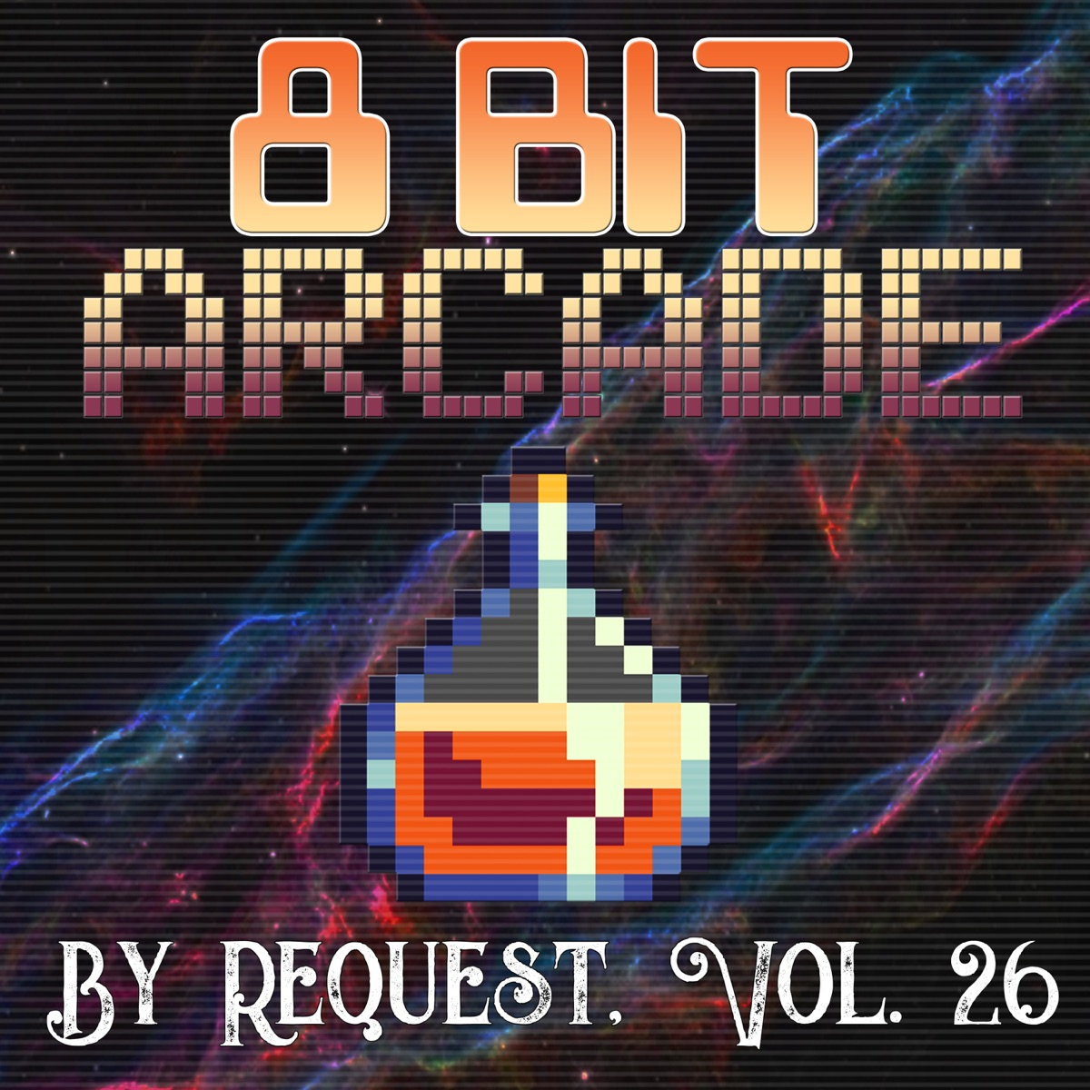 By Request Vol 26 8-Bit Arcade CD cover