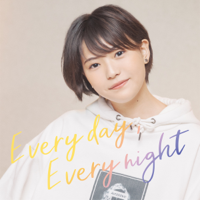 三阪咲 - Every day, Every night - EP artwork