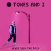 Tones and I - Never Seen the Rain artwork
