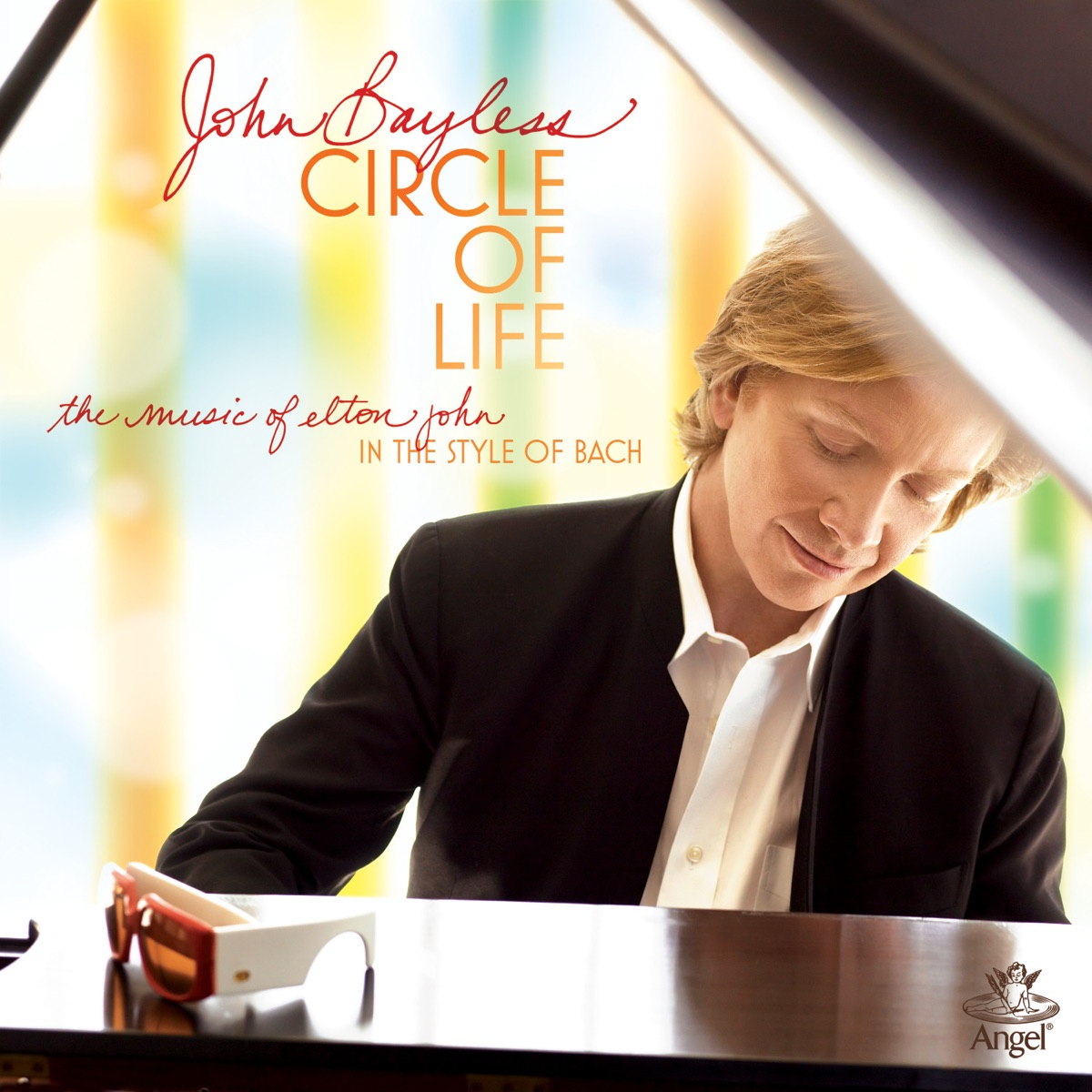 The Circle of Life - Bach Improvisations On Themes By Elton John John Bayless CD cover