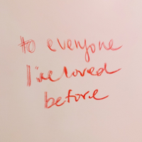 To Everyone I've Loved Before-Victoria Bigelow
