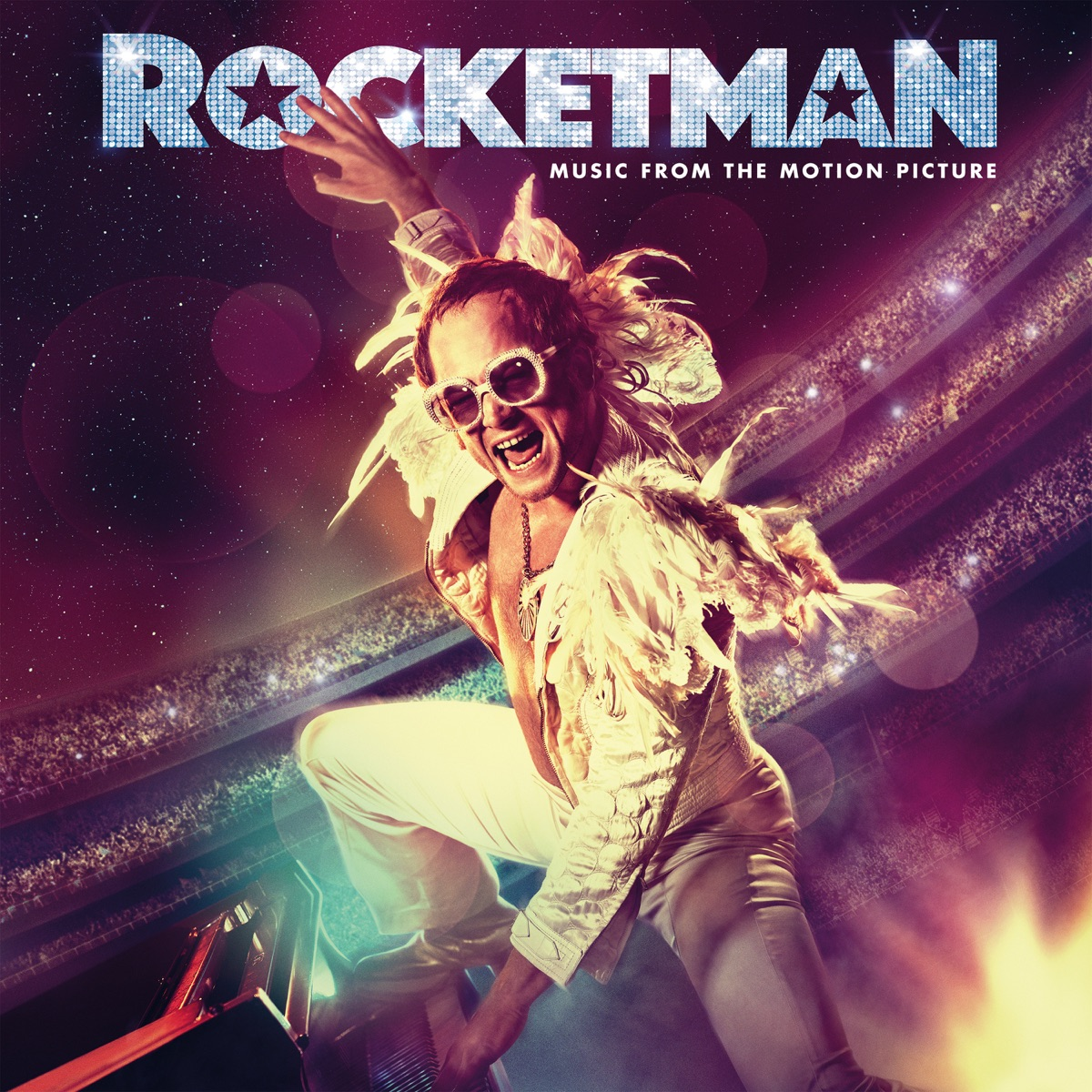 Rocketman Music from the Motion Picture Elton John  Taron Egerton CD cover