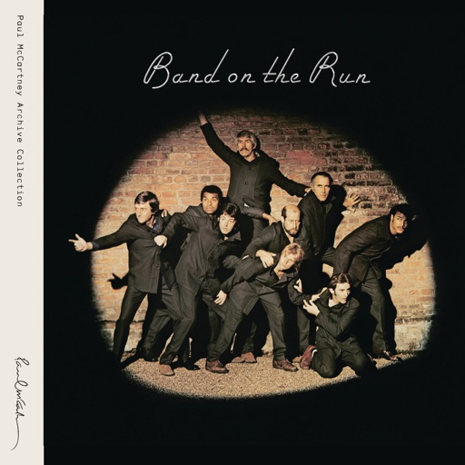 Art for Band On The Run by Paul McCartney & Wings