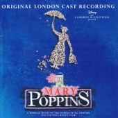 Charlotte Spencer as Jane Banks;Gavin Lee as Bert;Harry Stott as Michael Banks;Laura Michelle Kelly as Mary Poppins;Customers - Mary Poppins Original London Cast;Melanie La Barrie as Mrs Corry - Supercalifragilisticexpialidocious