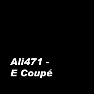 Ali471 - E Coupé