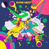 Bone Nest - Neon Faucet kunstwerk