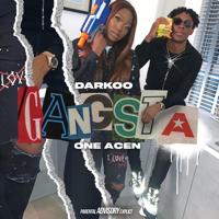 DARKOO & One Acen - Gangsta artwork
