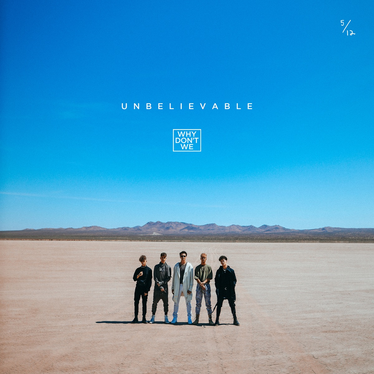 Unbelievable - Single Why Dont We CD cover