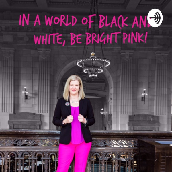 In a World of Black and White, be Bright Pink