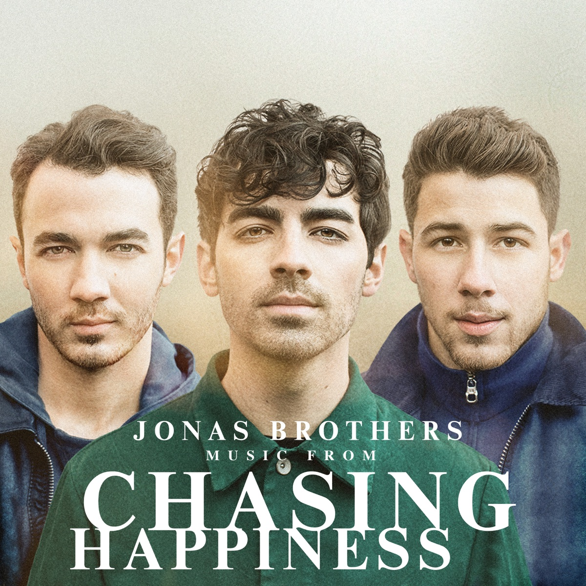 Music from Chasing Happiness Jonas Brothers CD cover