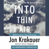 Jon Krakauer - Into Thin Air: A Personal Account of the Mt. Everest Disaster (Unabridged)  artwork