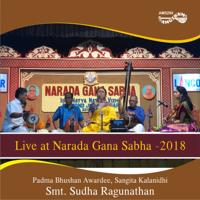 Smt. Sudha Ragunathan - Live at Narada Gana Sabha - 2018 artwork