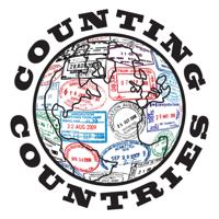 Podcast cover art for Counting Countries