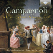 Campagnoli: 6 Duos for Flute and Violin, Op. 2 - Francesco Parrino & Stefano Parrino - Francesco Parrino & Stefano Parrino