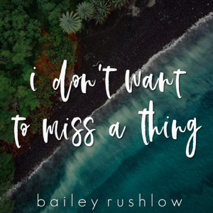 Bailey Rushlow - I Don't Want to Miss a Thing (Acoustic)