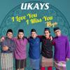 Ukays - I Love You I Miss You Raya artwork