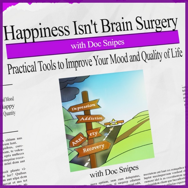 Happiness Isn't Brain Surgery-  Depression   Mindfulness   Mental Health   Recovery   Doc Snipes   Addiction