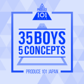 PRODUCE 101 JAPAN - 35 Boys 5 Concepts - EP