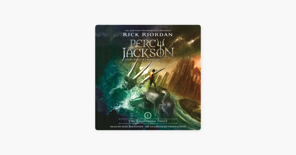 The Lightning Thief: Percy Jackson and the Olympians: Book 1 (Unabridged) - Rick Riordan