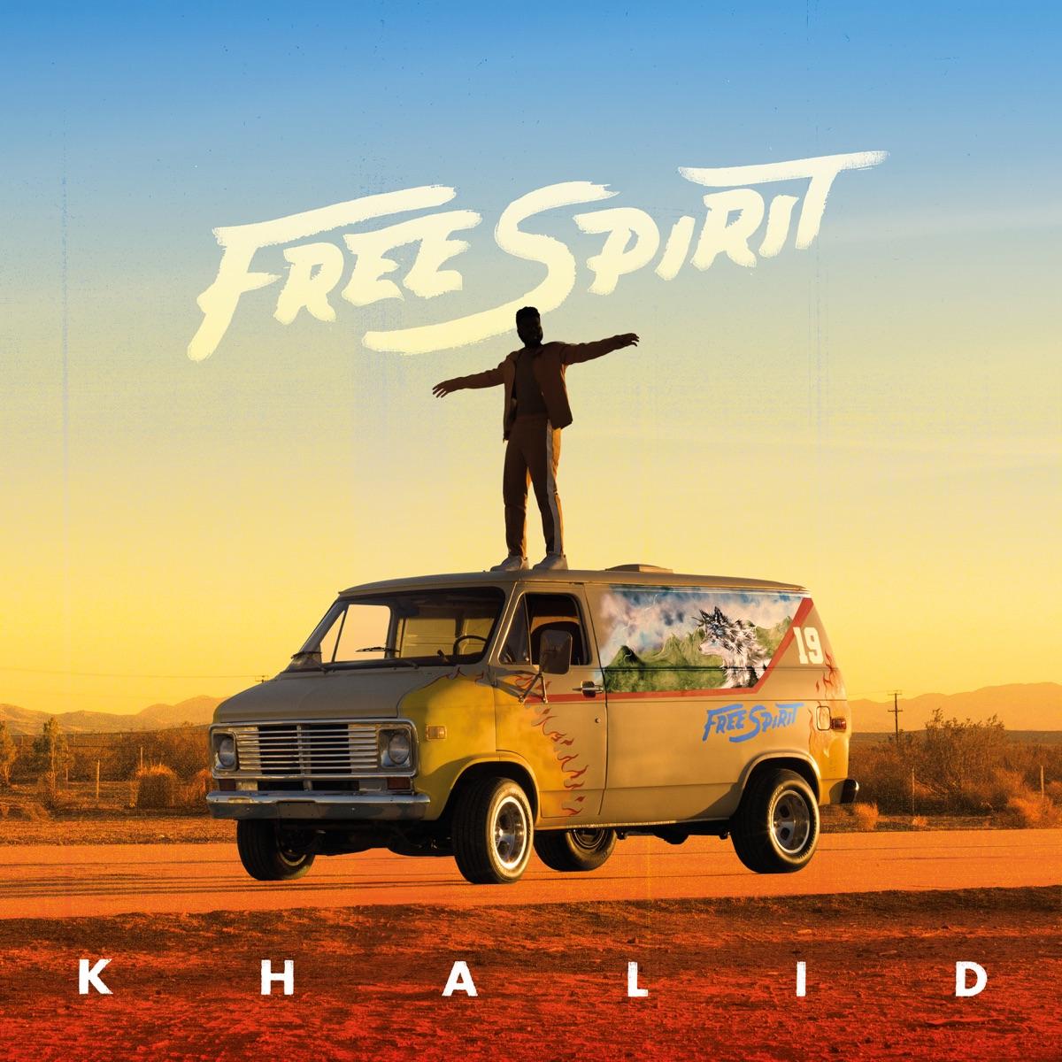 Free Spirit Khalid CD cover