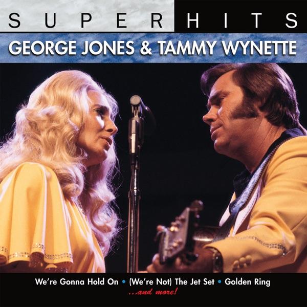 George Jones & Tammy Wynette mit Golden Ring