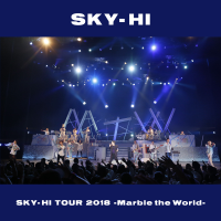 SKY-HI - SKY-HI TOUR 2018-Marble the World- <2018.04.28 at ROHM Theater Kyoto> artwork